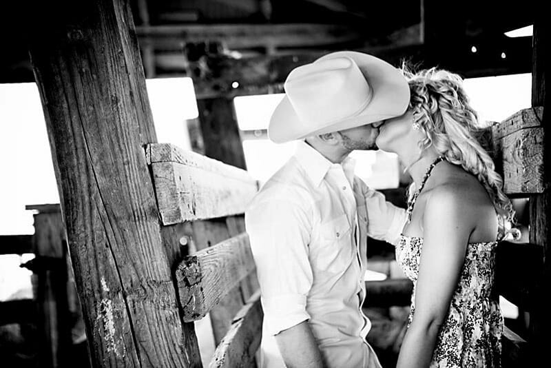 Engagement Session And Proposal In Fort Worth Stockyards 04