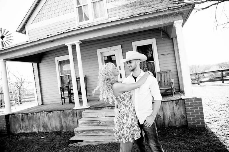 Engagement Session And Proposal In Fort Worth Stockyards 09