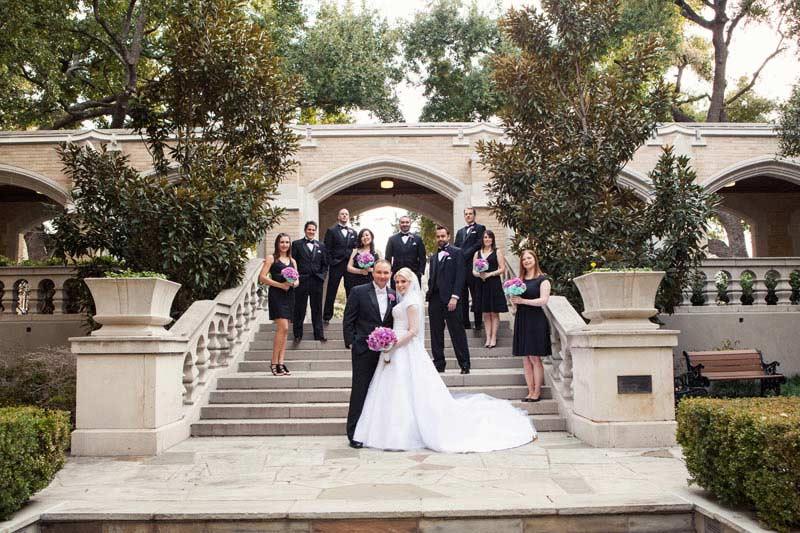 Heidi And Chris Wedding At Cox Chapel Smu 14