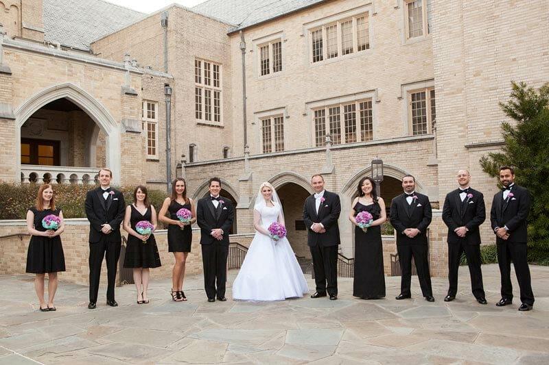 Heidi And Chris Wedding At Cox Chapel Smu 17