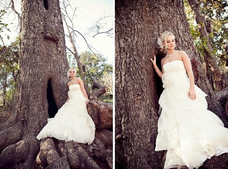 Shauna Bridal Session At Fort Worth Botanical Gardens 15