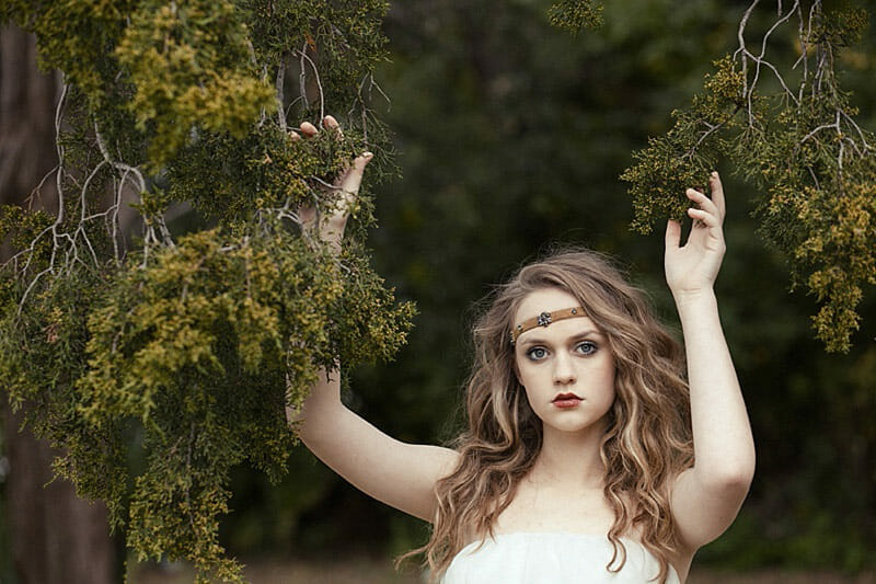Surreal And Glamorous Senior Pictures 14