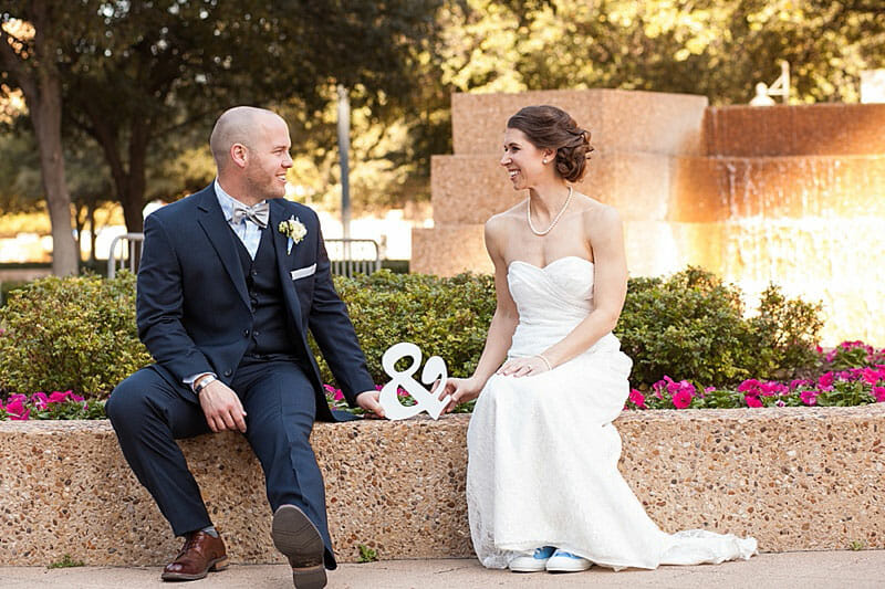 Fort Worth Library Wedding And Reata Reception 11