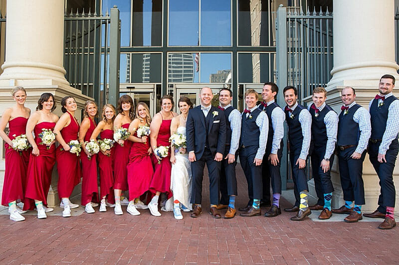 Fort Worth Library Wedding And Reata Reception 19