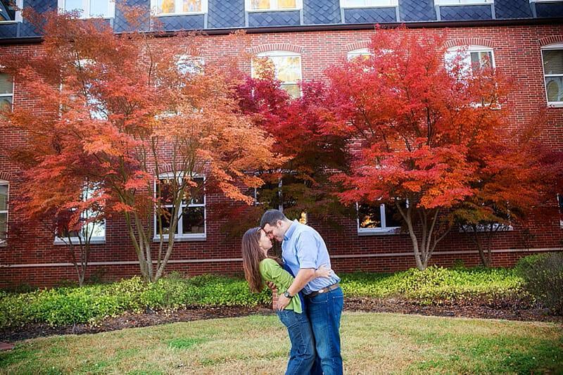 Hilary And Mark Engagement Photos At Louisiana Tech 10