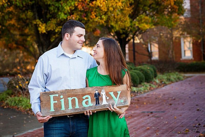 Hilary And Mark Engagement Photos At Louisiana Tech 34