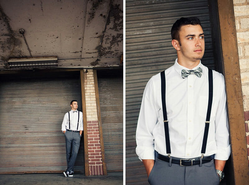 Chandler Senior Pictures T And P Train Station 05