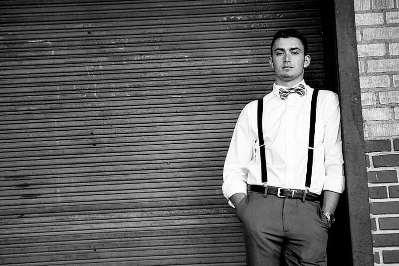 Chandler Senior Pictures T And P Train Station 10