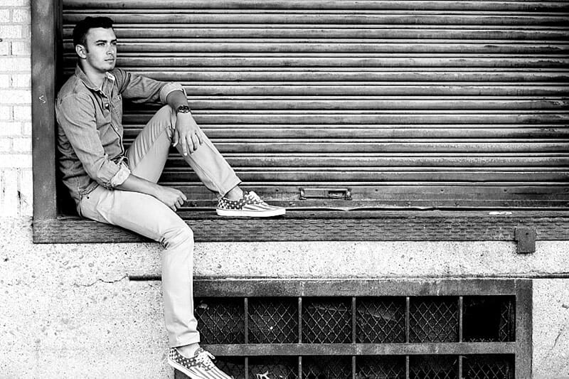 Chandler Senior Pictures T And P Train Station 14