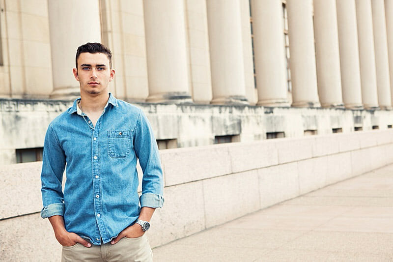 Chandler Senior Pictures T And P Train Station 18