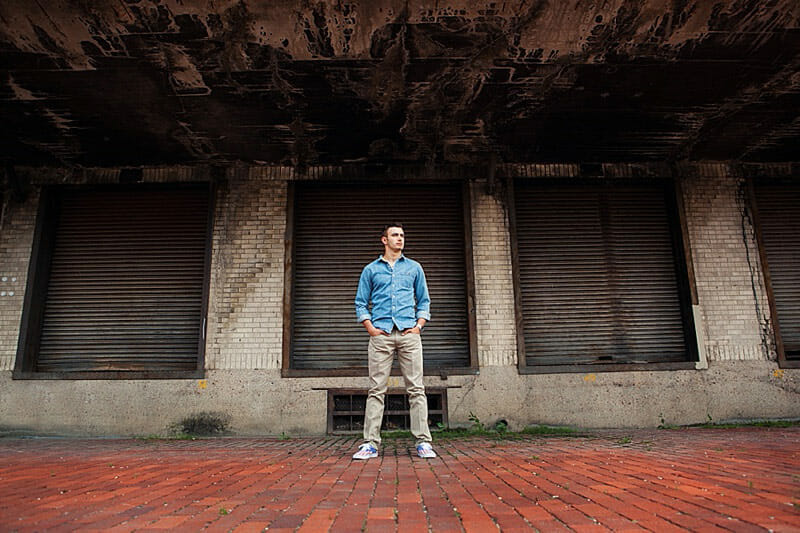 Chandler Senior Pictures T And P Train Station 23