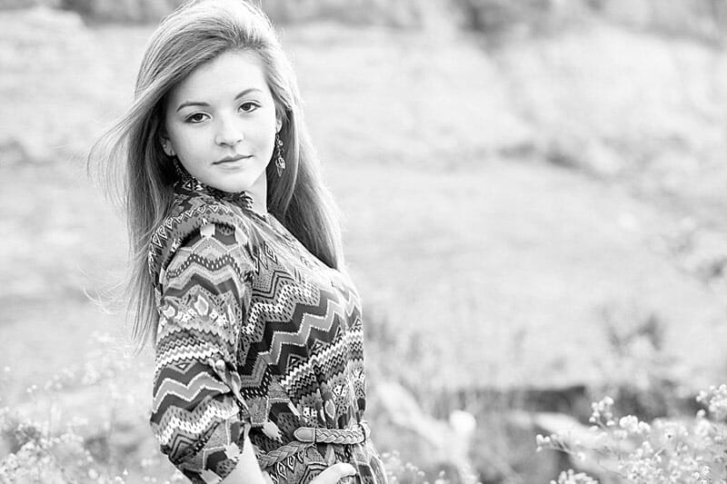 Gabby Senior Pictures At Rock Ledge Park 06