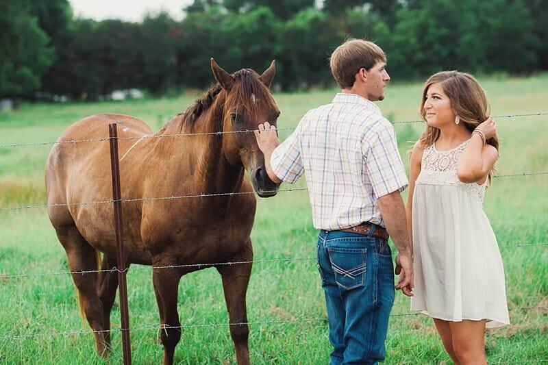 Katie And Jordan Engagement Session In Geismar Louisiana 007